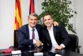 Sergi Barjuán, allenatore ad interim del Barça. BarcelonaB