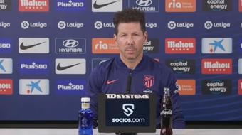 Diego Simeone s'attend un match très disputé. AFP