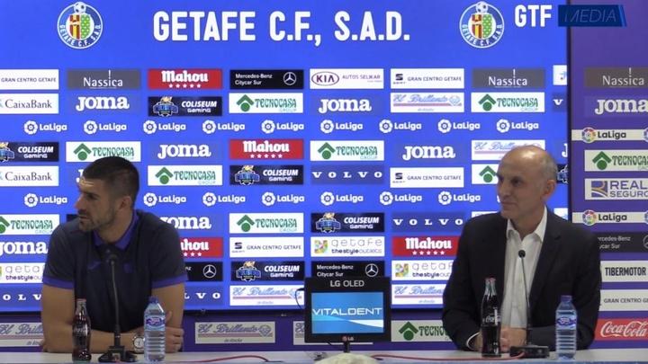 Mitrovic consideró la Liga Española como la mejor de Europa. Youtube/GetafeCF