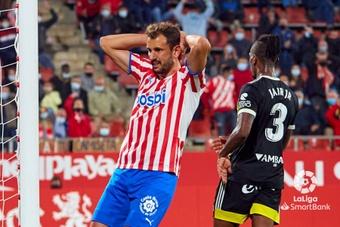 El Girona rescató un punto ante el Zaragoza gracias a Stuani. LaLiga