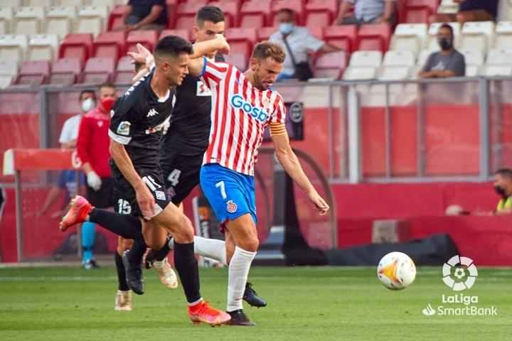 Stuani fue el encargado de marcar el primer gol del partido. LaLiga