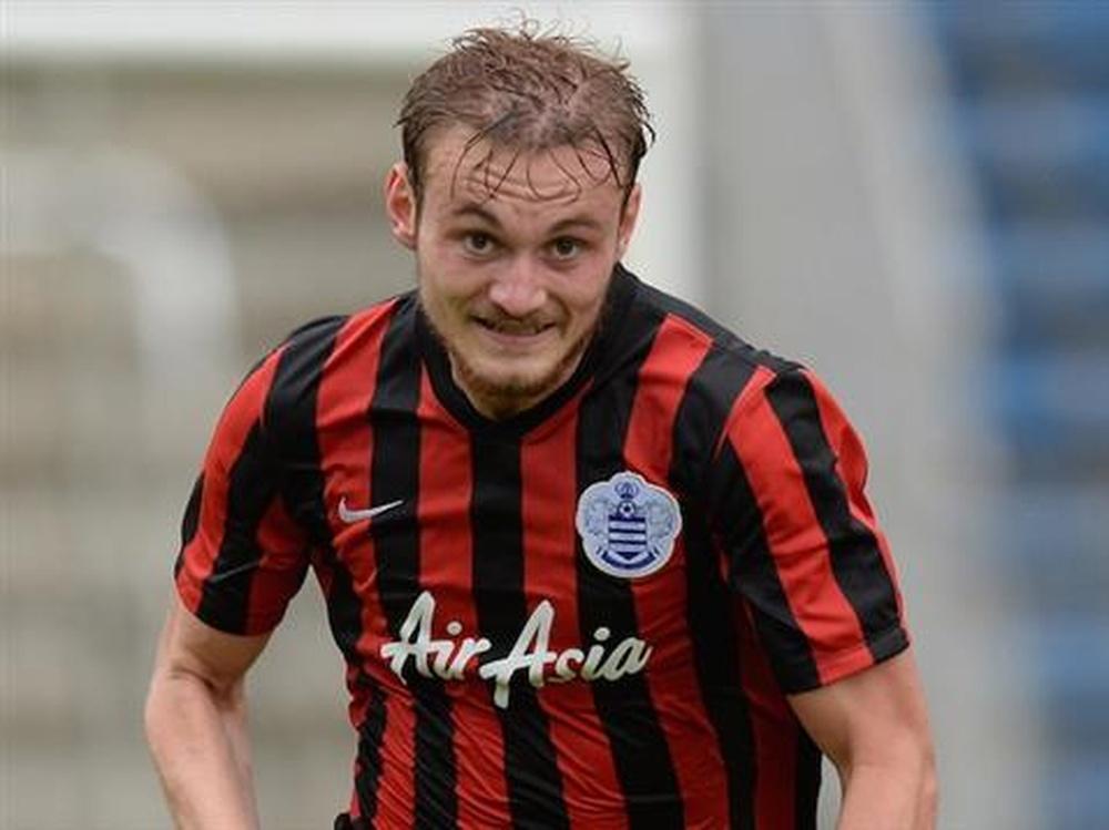 Sutherland en su etapa como jugador del QPR. Crawleytownfc