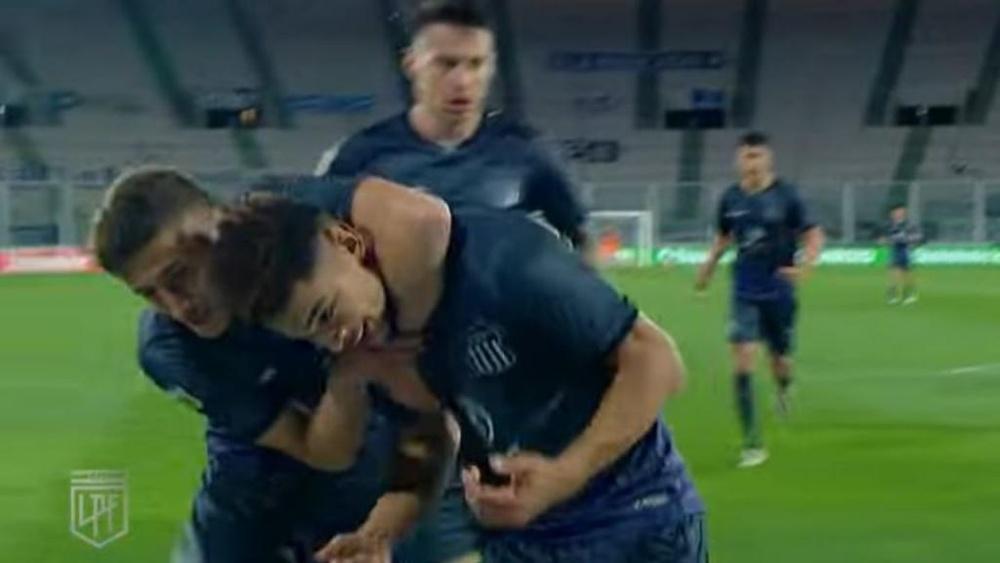 Talleres Córdoba se impuso a Arsenal de Sarandí. Captura/Youtube/LigaProfesionaldeFútboldelaAFA