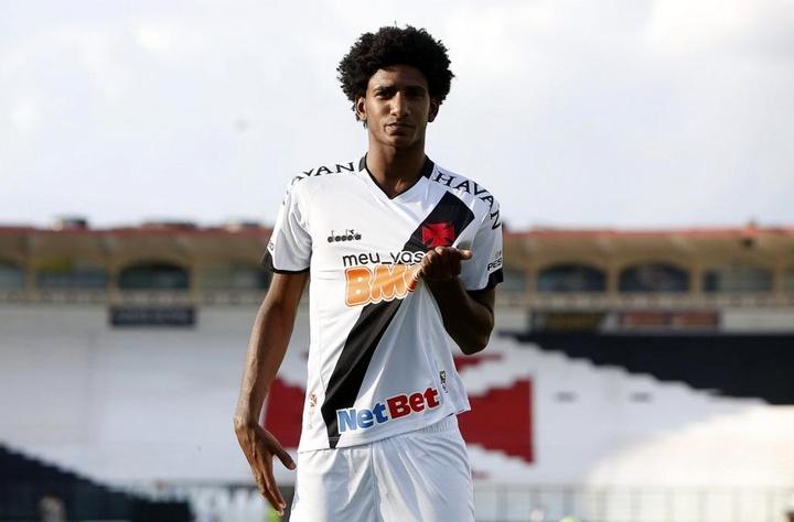 Convoité par plusieurs cadors d'Europe, Talles Magno signe en MLS. Twitter/VascodaGama