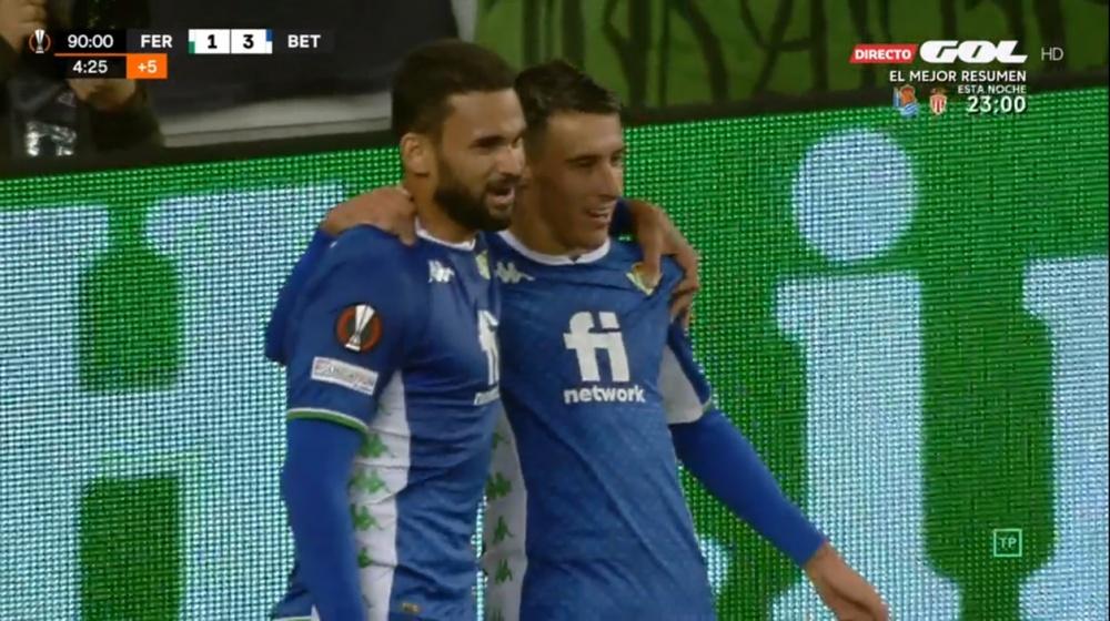 Sigue el directo de la segunda jornada de la Europa League. Captura/GOL