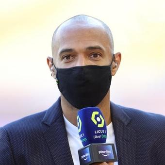 Thierry Henry explique les difficultés de Lionel Messi. AFP