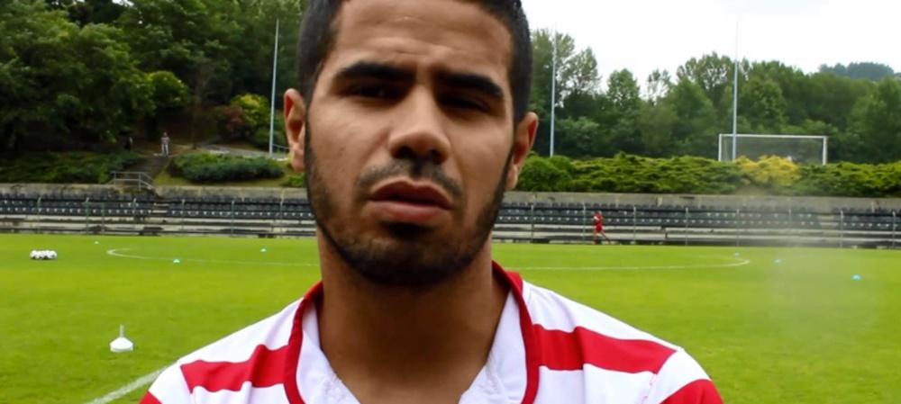 Tijani Belaid, jugador del Veria. Youtube