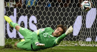 Krul saved two penalties during the shoot-out. AFP
