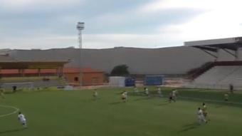 Virgil hizo el gol del año con el Villaralbo en la Regional. Captura/CD_Villaralbo