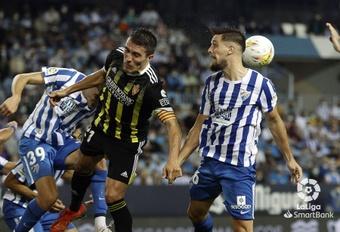 El Zaragoza sumó su sexto empate consecutivo en La Rosaleda. LaLiga