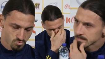 Ibrahimovic: Sweden return is not easy for my family