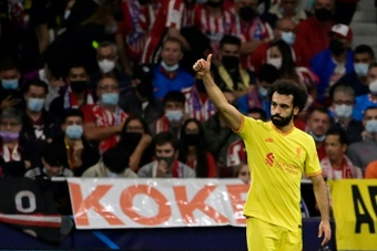 Salah wants to stay, but says it doesn't depend on him. AFP