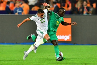 Sadio Mane was among the scorers for Senegal in a convincing World Cup qualifying victory. AFP