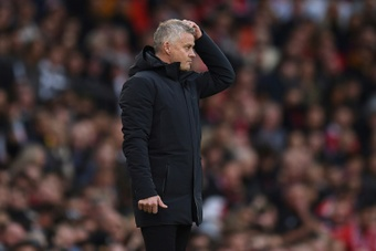 Ole Gunnar Solskjaer could be on his way out of the club. AFP