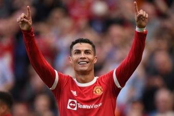 Cristiano Ronaldo scored twice as Man Utd beat Newcastle 4-1. AFP