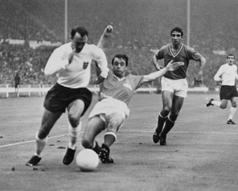 Jimmy Greaves' funeral has been held. AFP