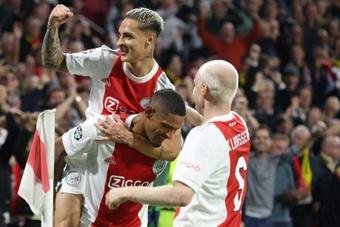Ajax were far too good for PSV on Sunday. AFP
