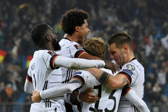 Thomas Muller came off the bench to grab Germany's win over Romania. AFP