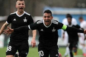 Frank Castaneda, the prolific Colombian striker... in Moldova