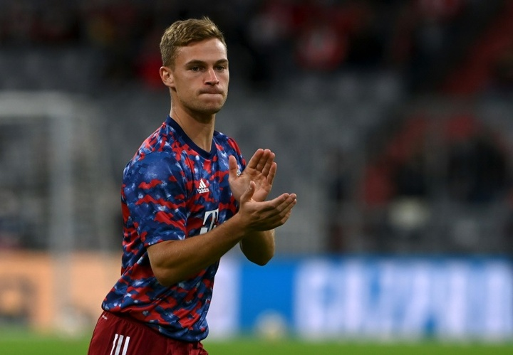 Joshua Kimmich has sparked debate in Germany since revealing he opted not to be vaccinated. AFP