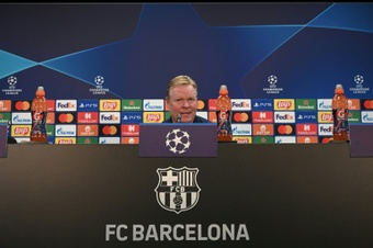 Ronald Koeman speaks ahead of UCL clash. AFP