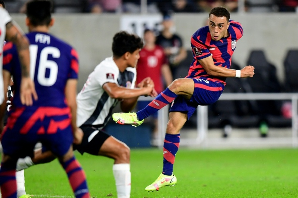 Weah, Dest spark US World Cup hopes as Costa Rica beaten. AFP