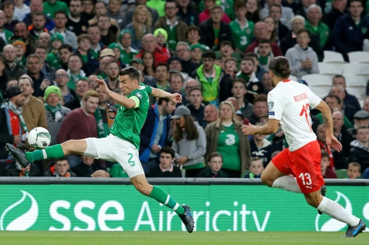 Ireland's men's and women's teams will be paid the same. AFP