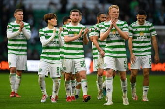 Celtic stretched their winning run to four games. AFP