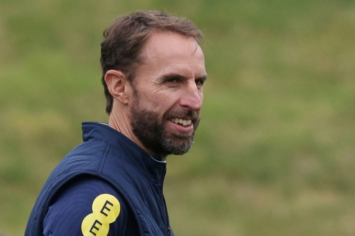 Gareth Southgate remains a firm believer in the vaccine. AFP