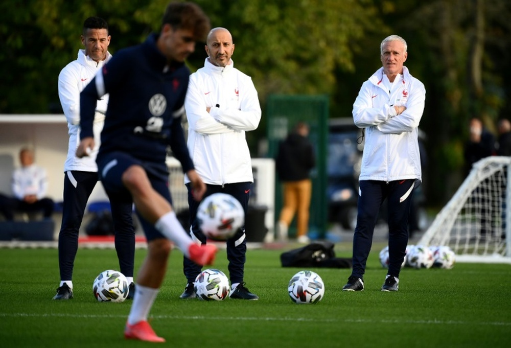 France face Belgium hoping to banish memories of Euro flop. AFP