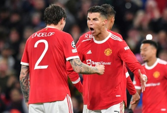 'Anything is possible' for Man Utd as Ronaldo papers over the cracks. AFP