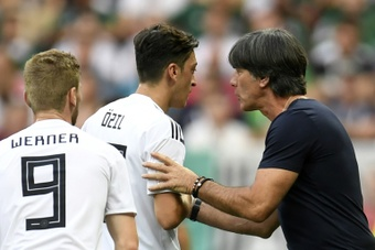 Ozil quit the German national team after their shock exit from the 2018 World Cup. AFP