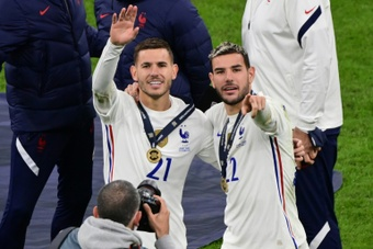 Madrid court orders imprisonment of France footballer Lucas Hernandez.