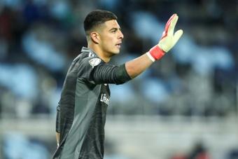 Real Salt Lake goalkeeper David Ochoa was also fined. AFP