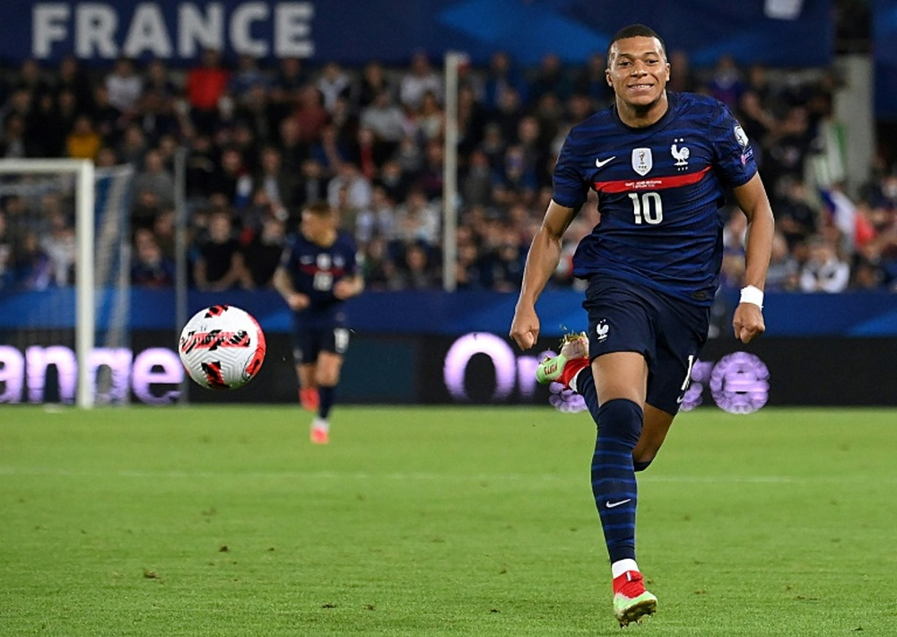 Mbappe is in line to earn his 50th France cap in the Nations League semi-final. AFP
