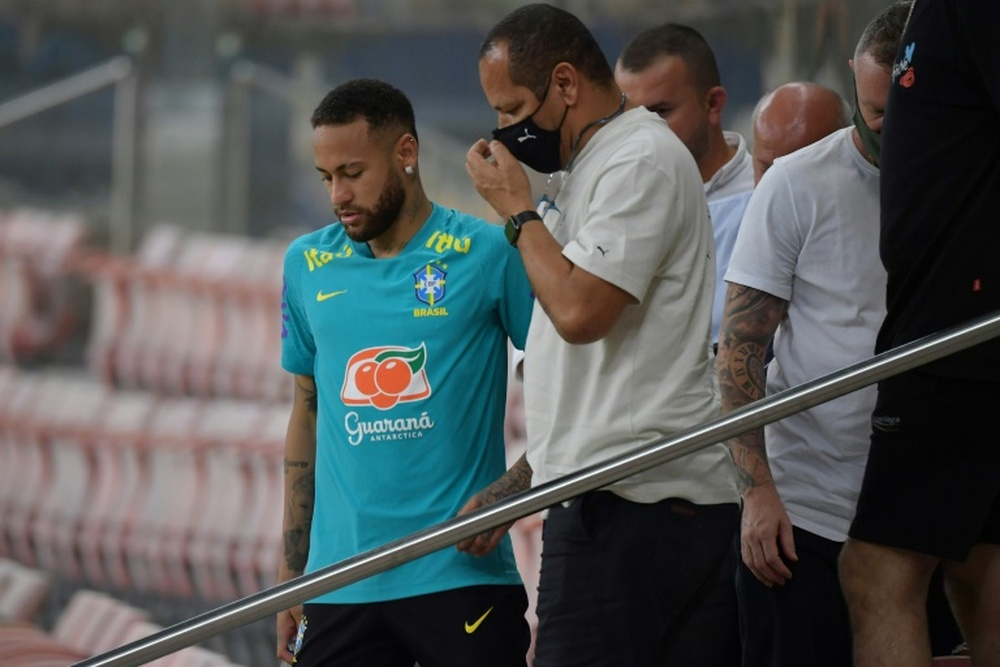 Pochettino says Neymar still has lots of time ahead in his career. AFP