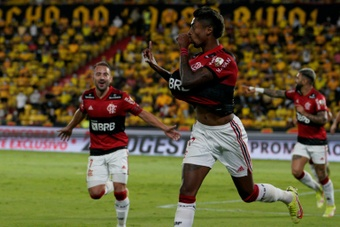 Flamengo cruise past Barcelona to reach Libertadores final. AFP