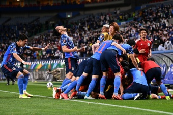 Japan revive World Cup hopes, South Korea frustrated by Iran