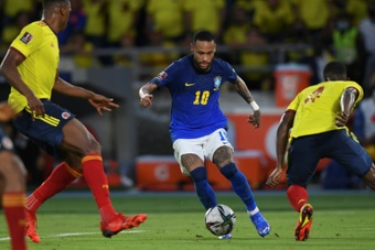 Brazil lose perfect start but close in on WC qualification. AFP
