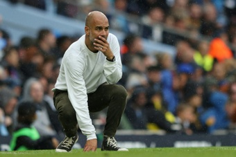 Pep Guardiola is saddened by the abuse of Steve Bruce. AFP