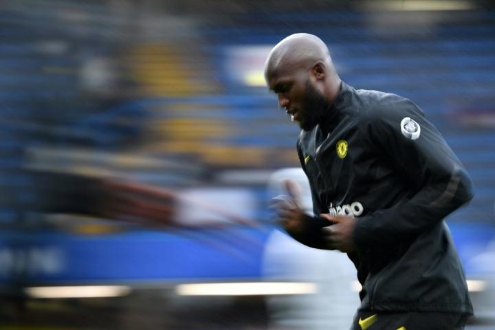 Thomas Tuchel believes Romelu Lukaku is mentally drained. AFP
