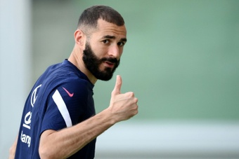 Karim Benzema has always wanted to win the Ballon d'Or. AFP