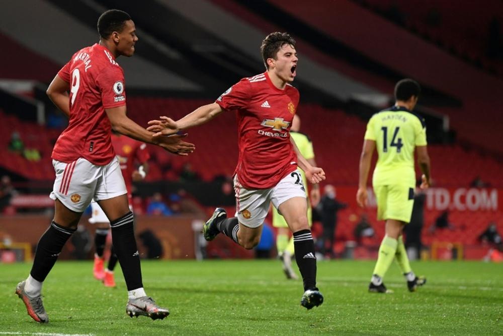 Man Utd beat Newcastle 3-1 despite being well below par. AFP
