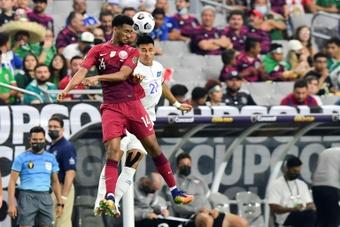 Report: Qatar 3-2 El Salvador. AFP