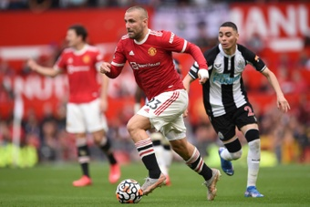 Luke Shaw said Manchester Uniteds 5-0 thrashing by Liverpool was coming. AFP