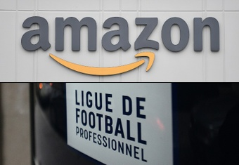 Amazon have stepped in after Mediapro's contract with the French league collapsed in December. AFP