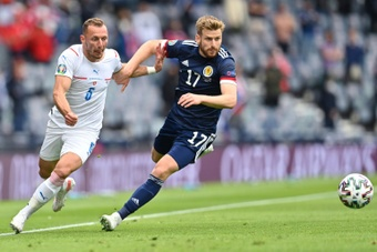 Scotland's Stuart Armstorng says his side must learn from their defeat. AFP