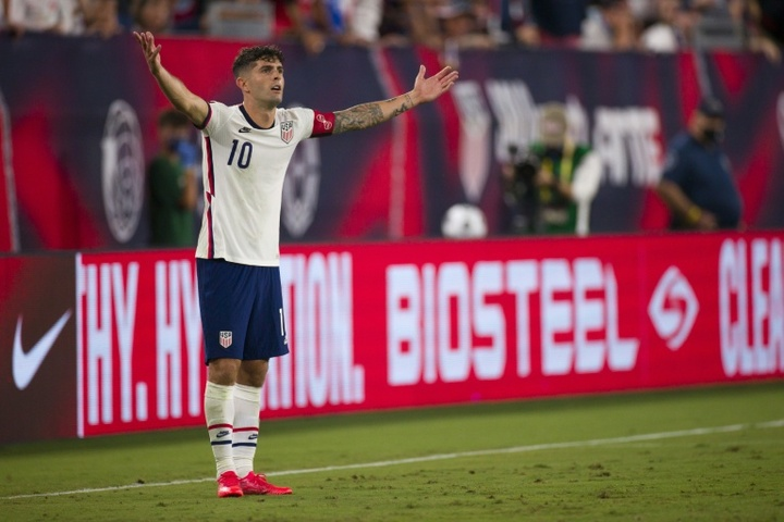Christian Pulisic will miss the next USA's games with an ankle injury. AFP