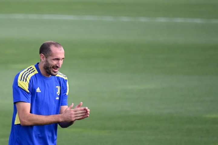Chiellini has won nine league titles with Juventus but is yet to win the Champions League. AFP