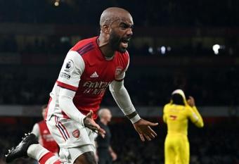 Lacazette rescues Arsenal point. AFP